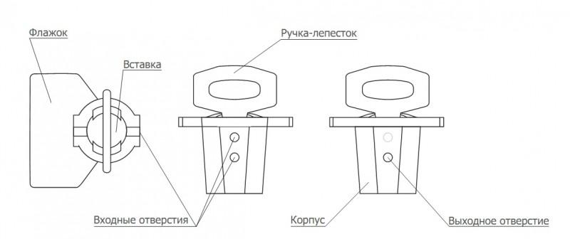 Схема установки роторной