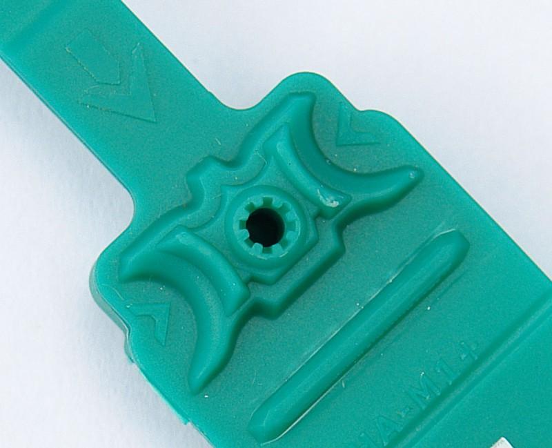 Номерная пластиковая пломба Альфа®-М1+ с высокой степени надежности