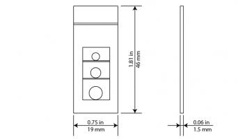 Термоиндикатор ВомМарк® Технические характеристики