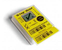 Электронный термоиндикатор Кью-тэг Квад® (Q-tag Quad®)