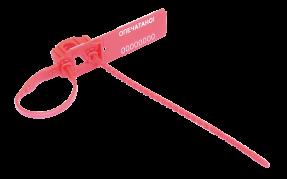 Номерная пластиковая пломба Аркан® с двойной системой замыкания