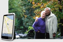 Автономный GPS + ГЛОНАСС Маяк Контроль за передвижением  пожилых людей