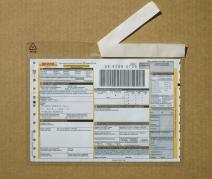 Юнипак самоклеящийся прозрачный конверт для сопроводительной документации