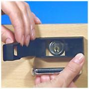 Блок Мини эксклюзивное специальное опечатываемое устройство для контроля доступа к личинкам врезных замков