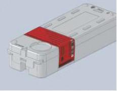 Пенал для ключей Силкипер опечатывается пломбами-наклейками СКР