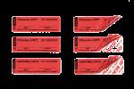 Номерные пломбы-наклейки СКР2+® 20х63 мм