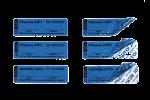 Номерные пломбы-наклейки СКР1® (20х100 мм)